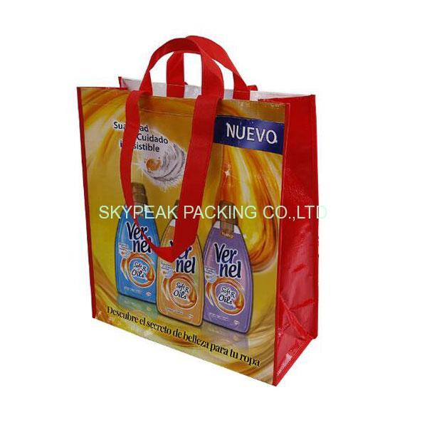 Ламинированный-PP-Woven-Shopping-Bag