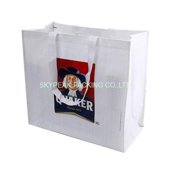Woven Laminated Tote Bag