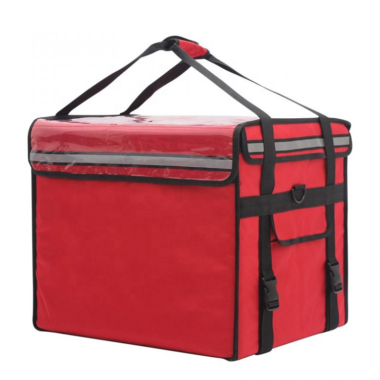 Waterproof Oxford delivery lunch box takeout Insulated cooler bag-6