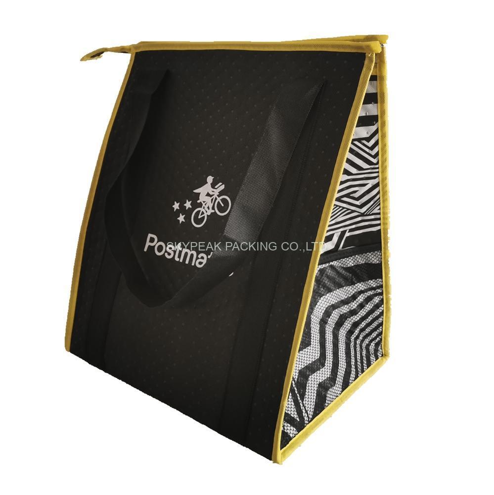 Premium quality aluminum foil thermal non woven custom picnic cooler bag-4